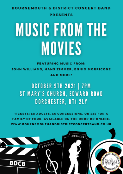 Music from the Movies concert poster